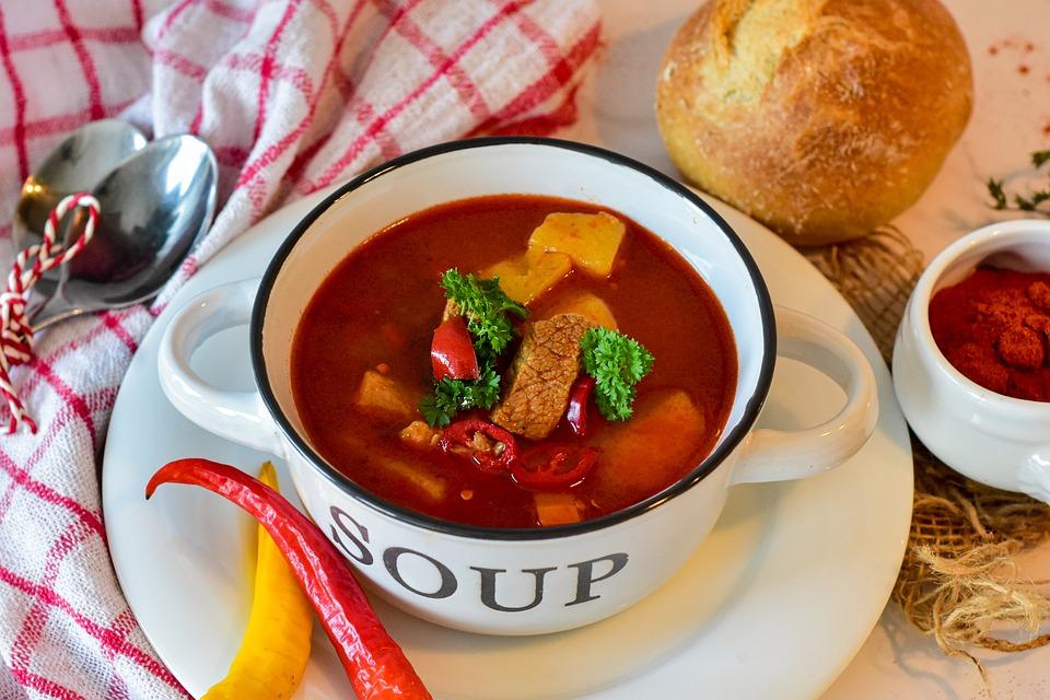 Goulash, Soup, Dish, Food, Goulash Soup, Stew, Broth