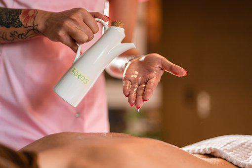 Therapy, Massage, Coconut, Oil