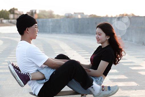 Couple, Teens, Love, Girl, Boy