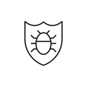 Antivirus, Bug, Icon, Computer, Malware