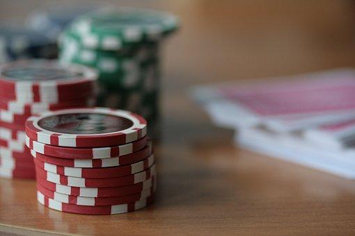 Gambling, Poker, Money, Chips