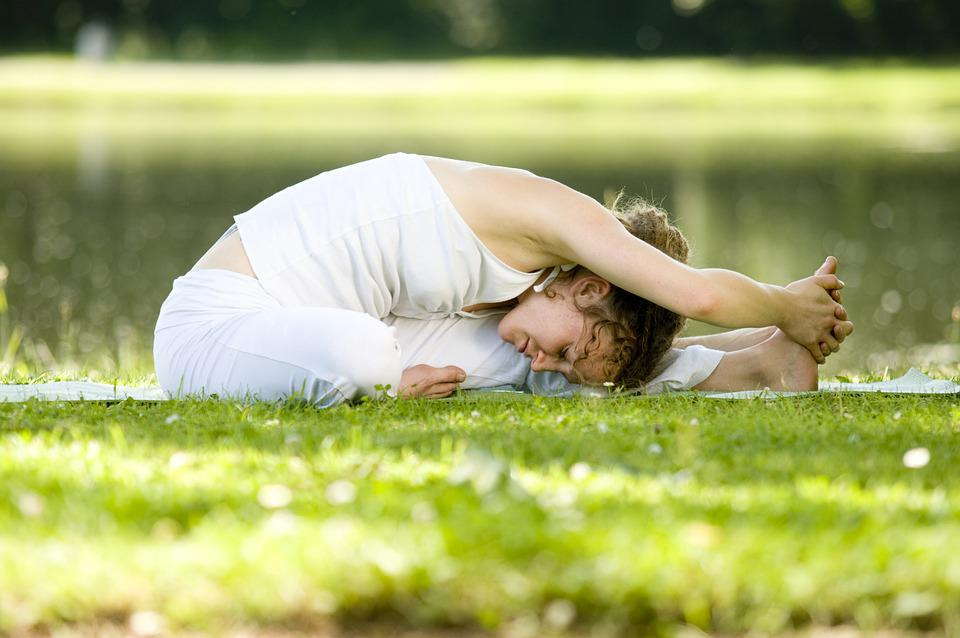 ヨガ, アーサナ, スポーツ, 瞑想, エクササイズ, ポーズ, 態度, リラクゼーション, 女性