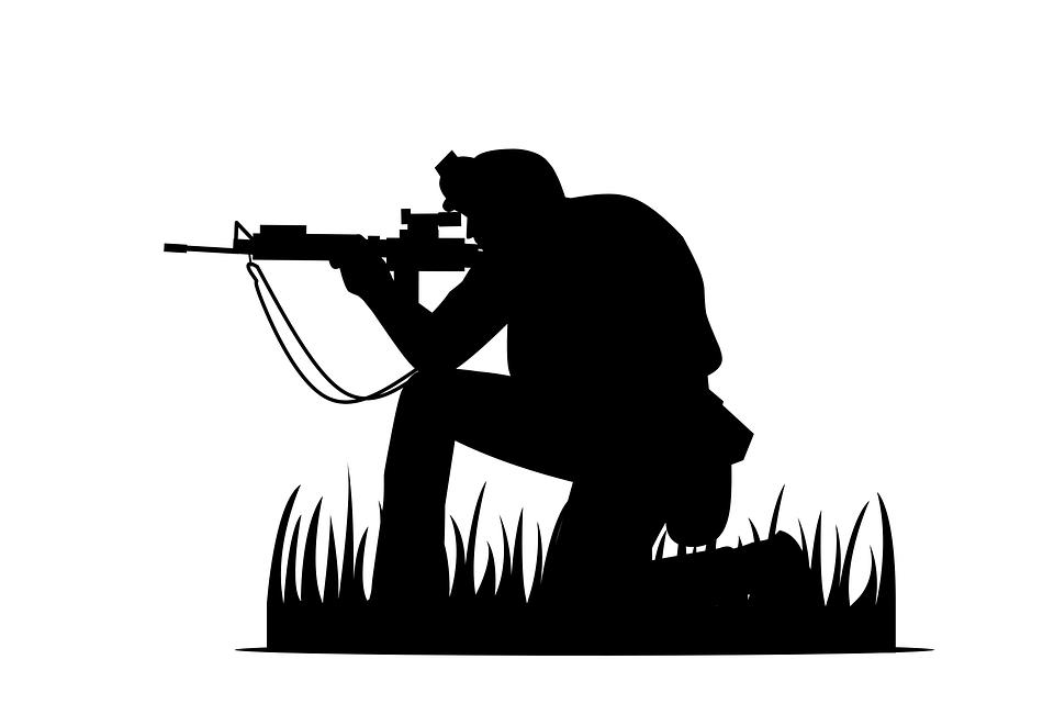 Pubg, Prajurit, Sniper, Angkatan Darat, Militer, Skuad