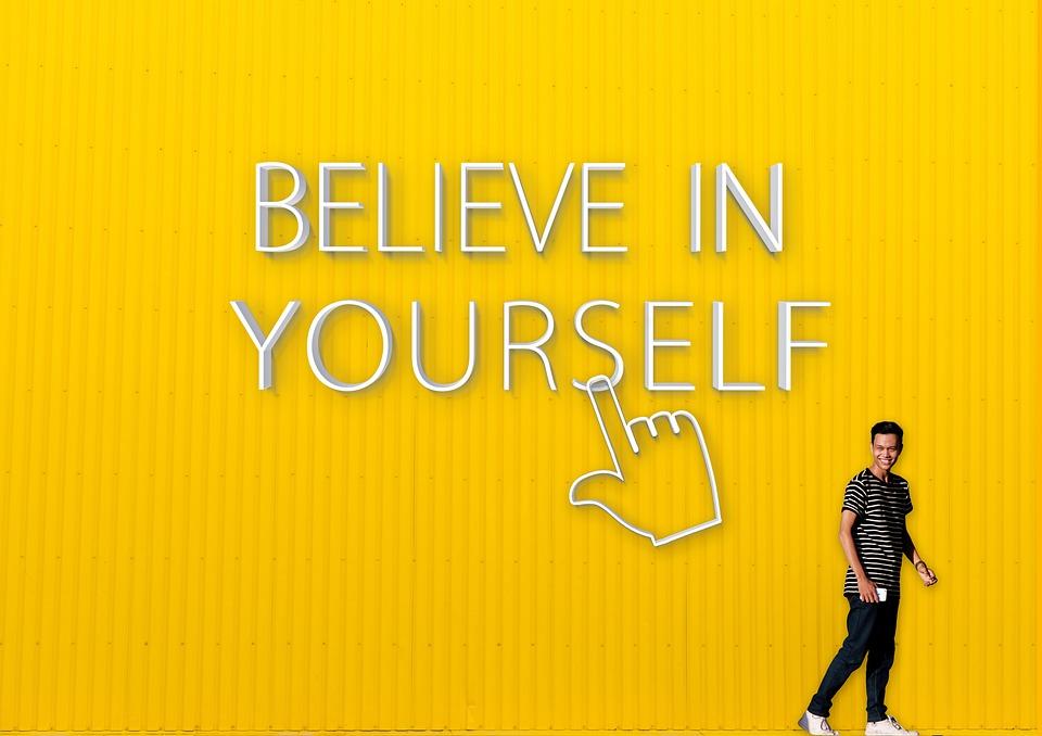 Geloof In Jezelf, Citaat, Motivatie, Zelf Motivatie