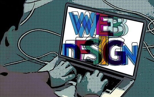 retro web design style