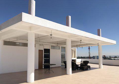 Rooftop, Furniture, Building, Terrace
