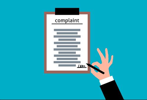 Complaint, Statement, Clipboard, Letter