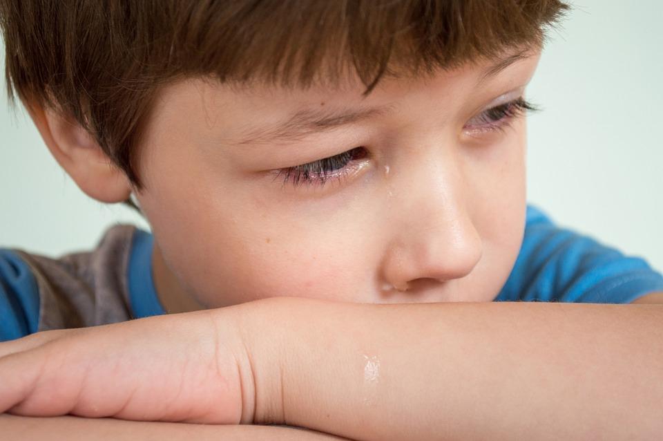 Kind, Tränen, Junge Weint, Traurig, Emotionen, Schreien