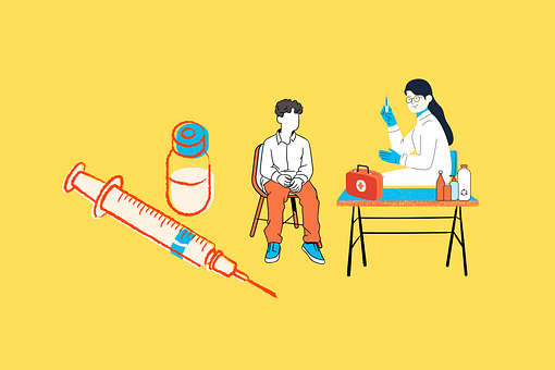 Vaccine, Doctor, Injection, Syringe
