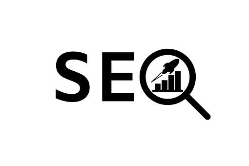 Seo, Rocket, Graph, Logo, Search