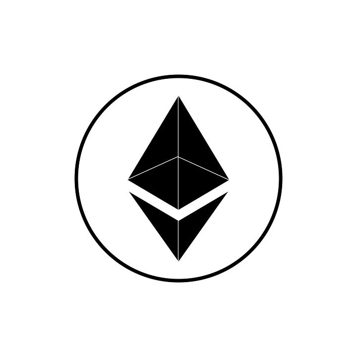 Ethereum, イーサリアムのロゴ, イーサリアムアイコン, イーサリアムのシンボル, スイス連邦工科大学