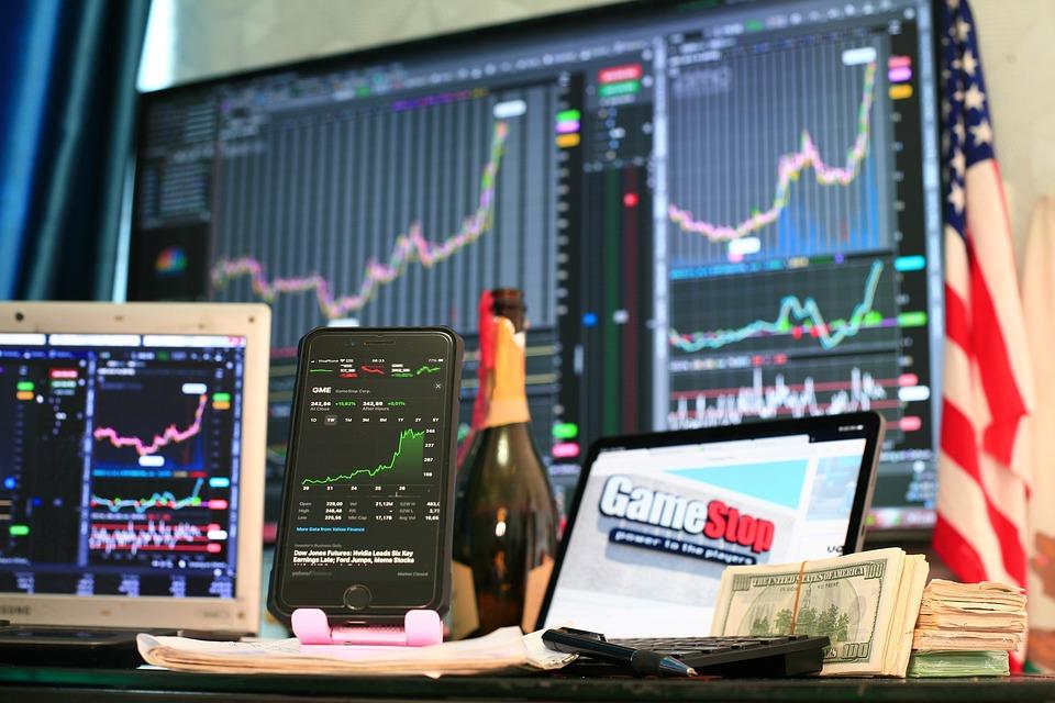 Gamestop, Stock, Chart, Gme, Wallstreetbets, Graph