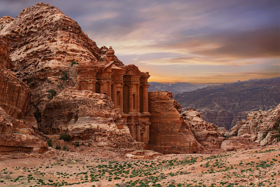 Petra, Ad Deir, World Heritage, Sand Stone, Antique