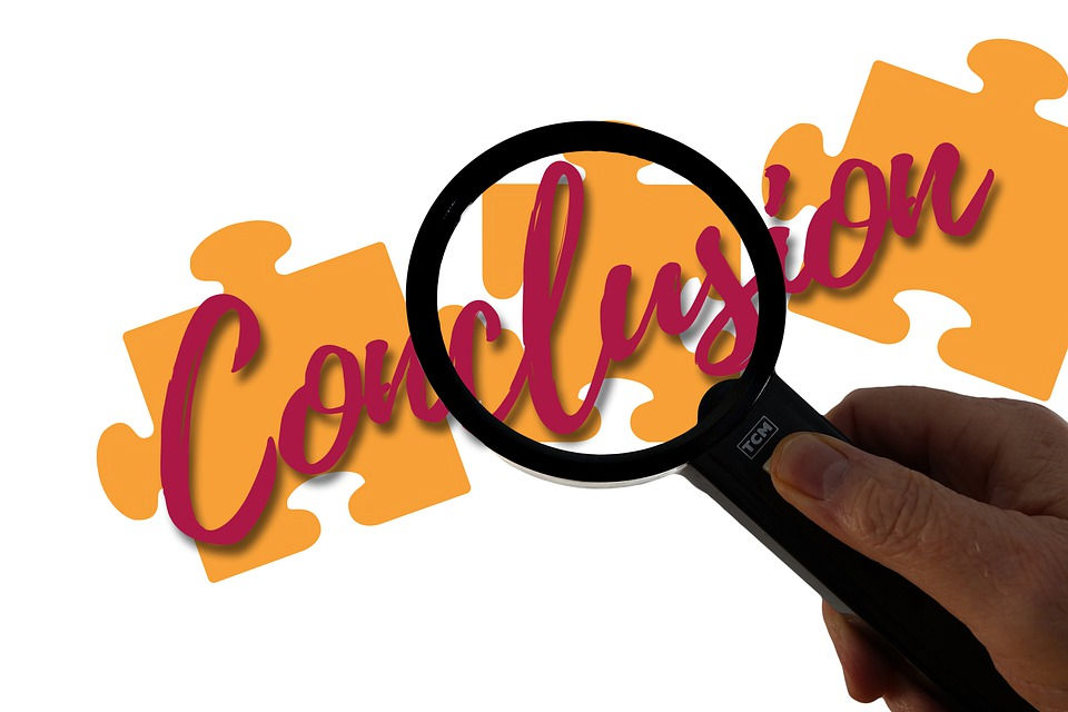 Conclusion, Magnifying Glass, Puzzle, Jigsaw