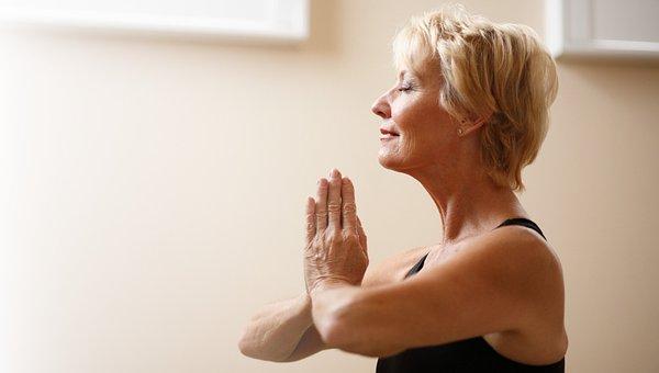 Mulher, Adulto, Ioga, Zen, Meditar