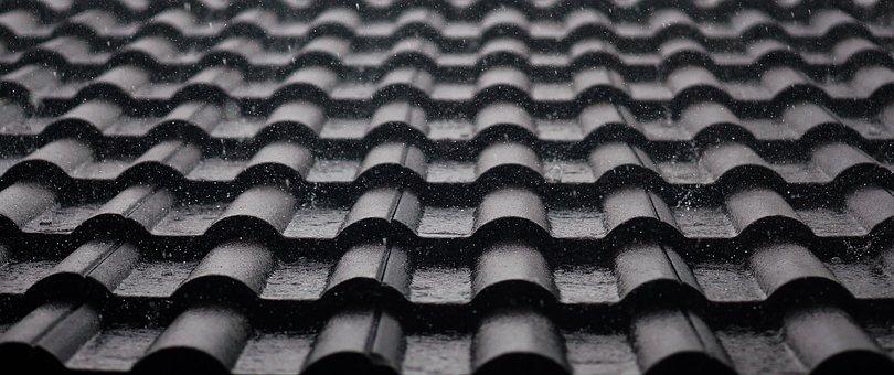 Roof, Tiles, Rain, Rainy, Raining