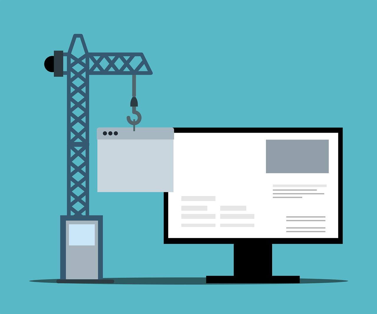 Utilizarea unui website builder în web design