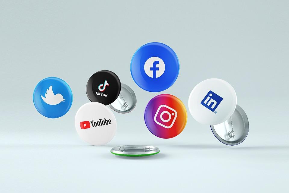 Social Media, Social Networks, Icons, Media, Multimedia