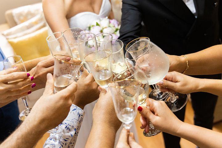 Wine, Glass, Toast, Cheers, Celebration