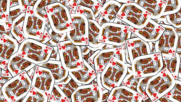 Playing Cards, King Of Hearts