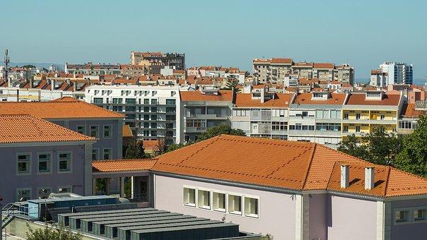 Lisbon, Town, Buildings, Portugal, Tejo