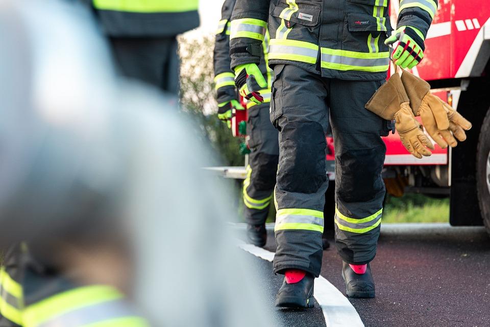 消防士, レスキュー, 消防, 保護, 緊急