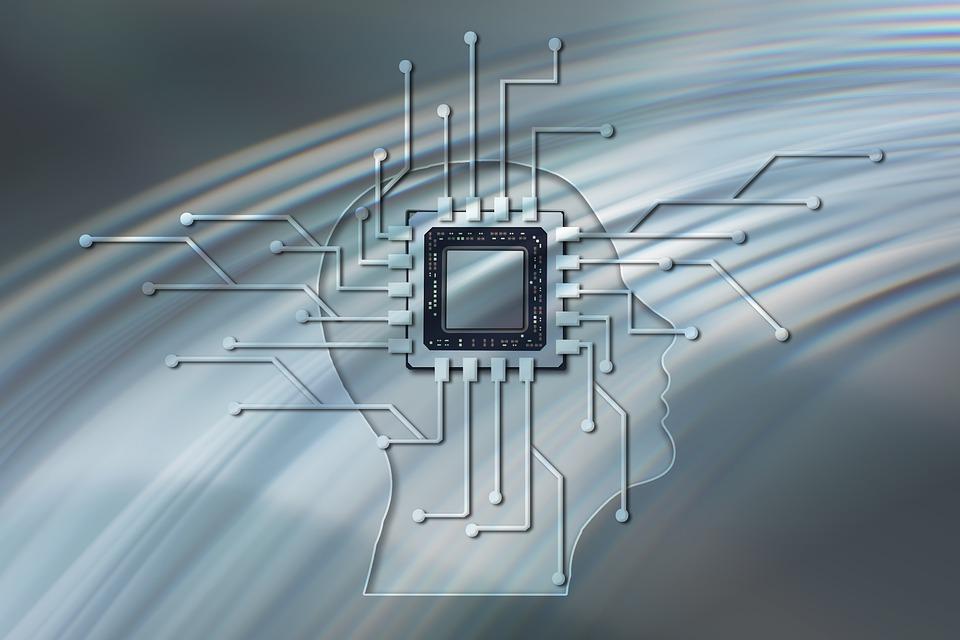 Digitization, Digital, Board, Processor, Brain, Head