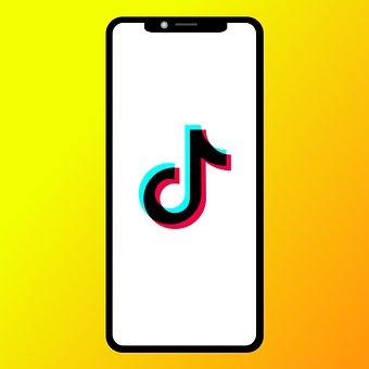 Tik Tok, Smartphone, Screen, Logo