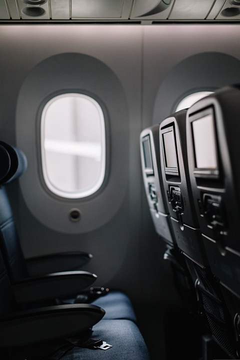 Plane, Seats, Window, Aviation, Aircraft, Commercial