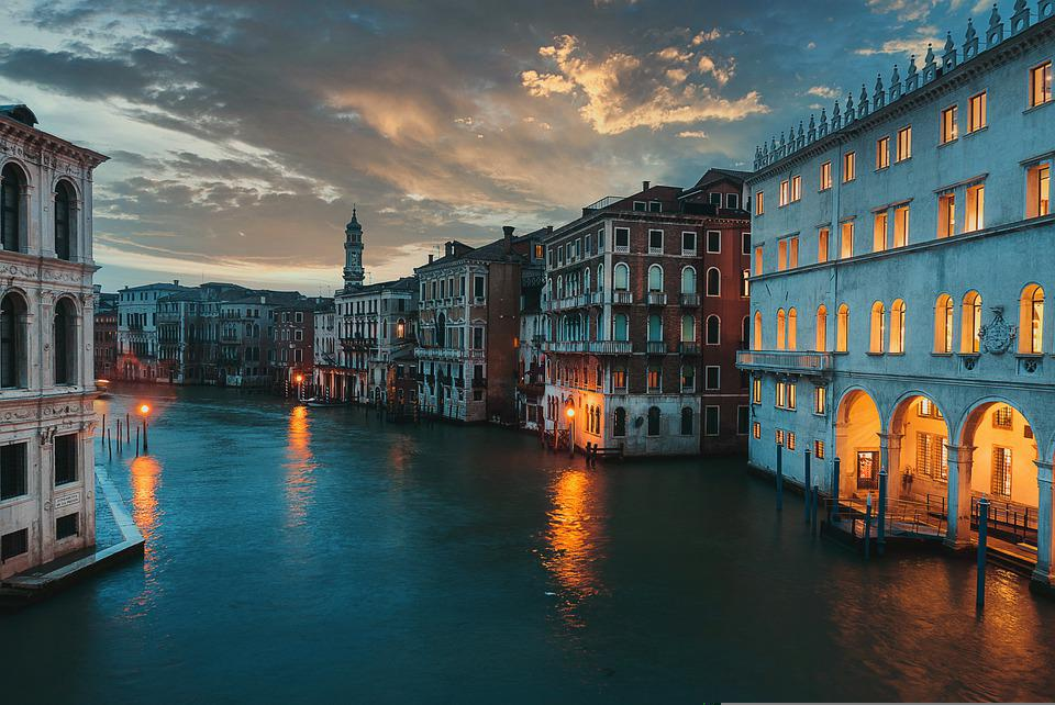 Canal, Tourism, Travel, Waterway, Venice, Italy, Europe