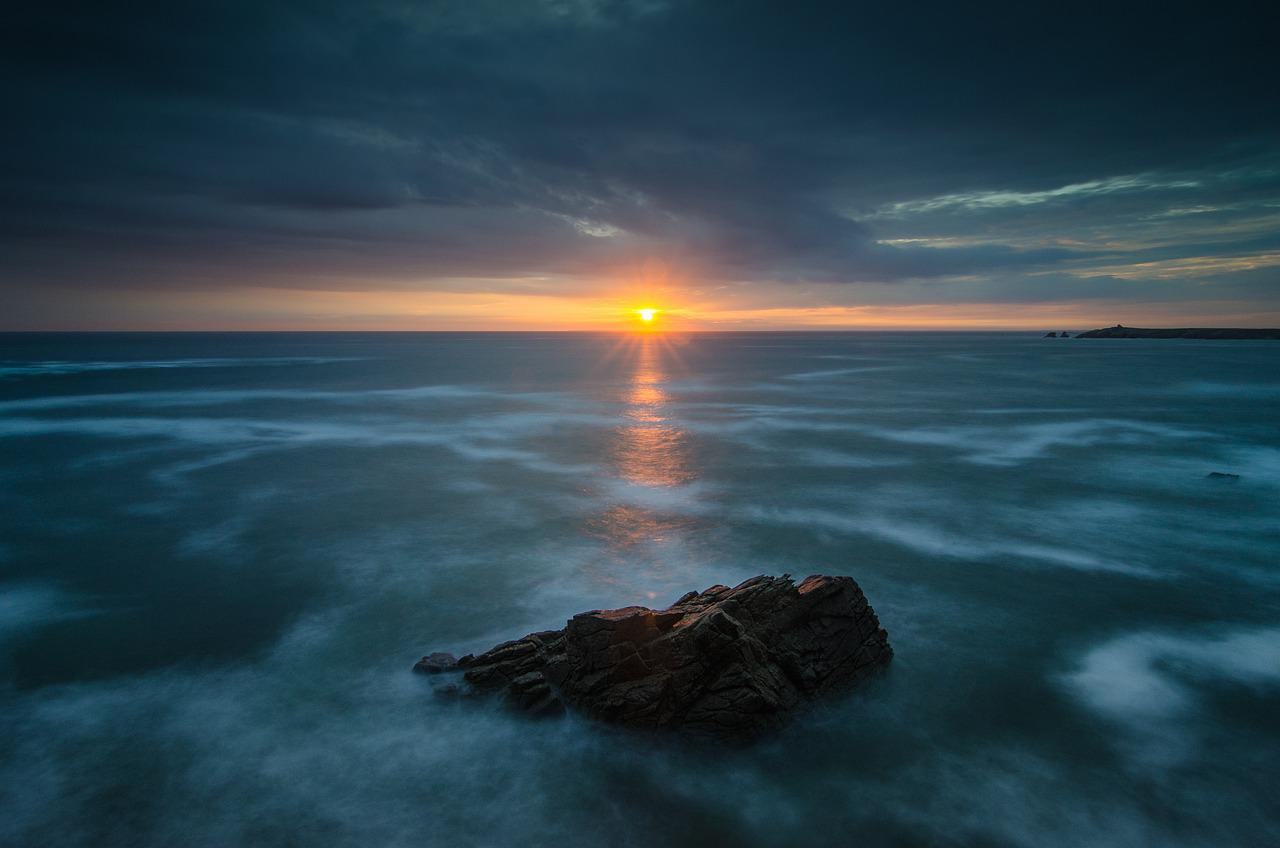 ocean, sunrise, dawn #6530523 w salonie