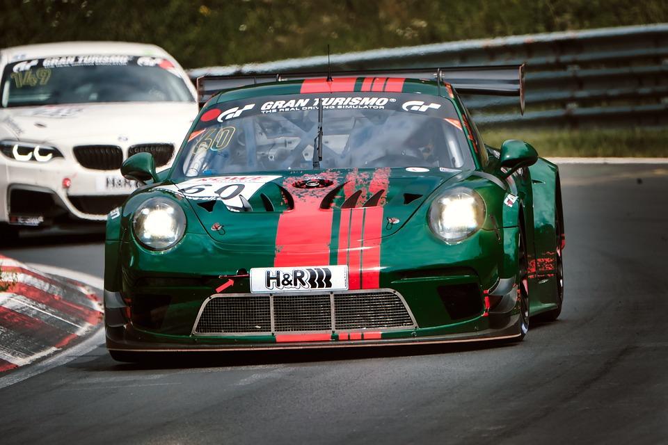 Car Racing, Motorsport, Race Track, Sports Car