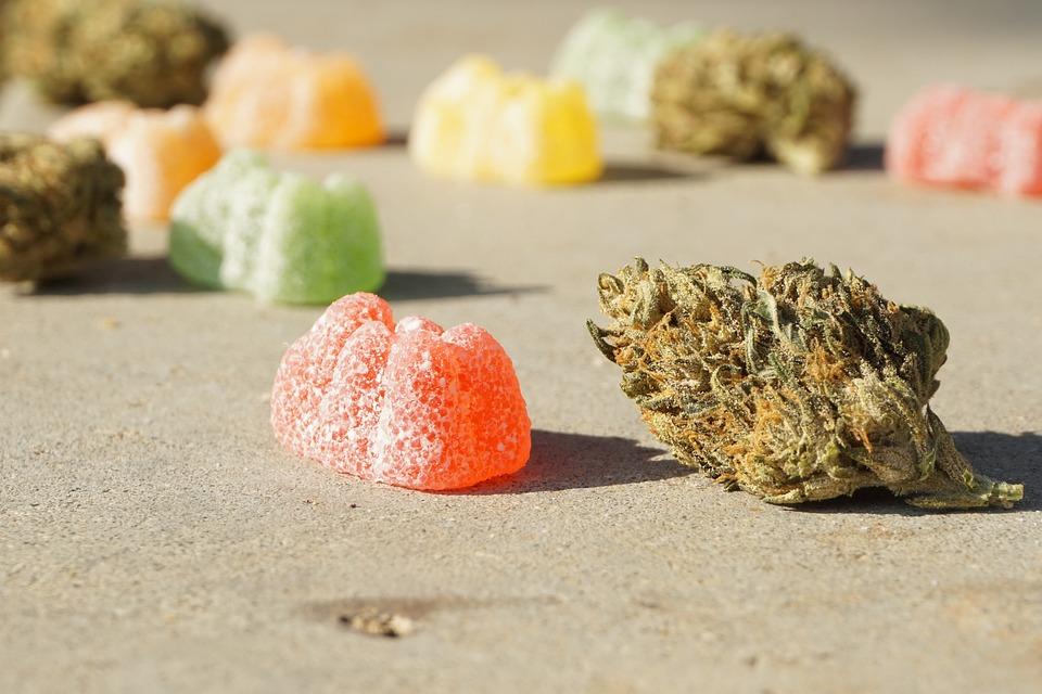 Cannabis, Marijuana, Weed, Edibles, Gummy
