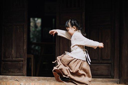 Kid, Girl, Playing, Child, Baby