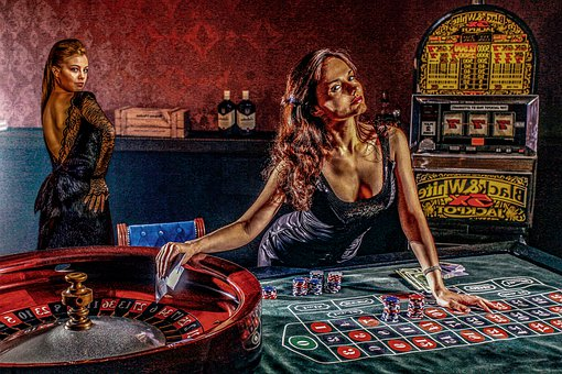 Women, Casino, Erotic, Beautiful