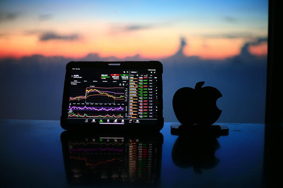 Stock, Chart, Apple, Bitcoin, Investing, Trading