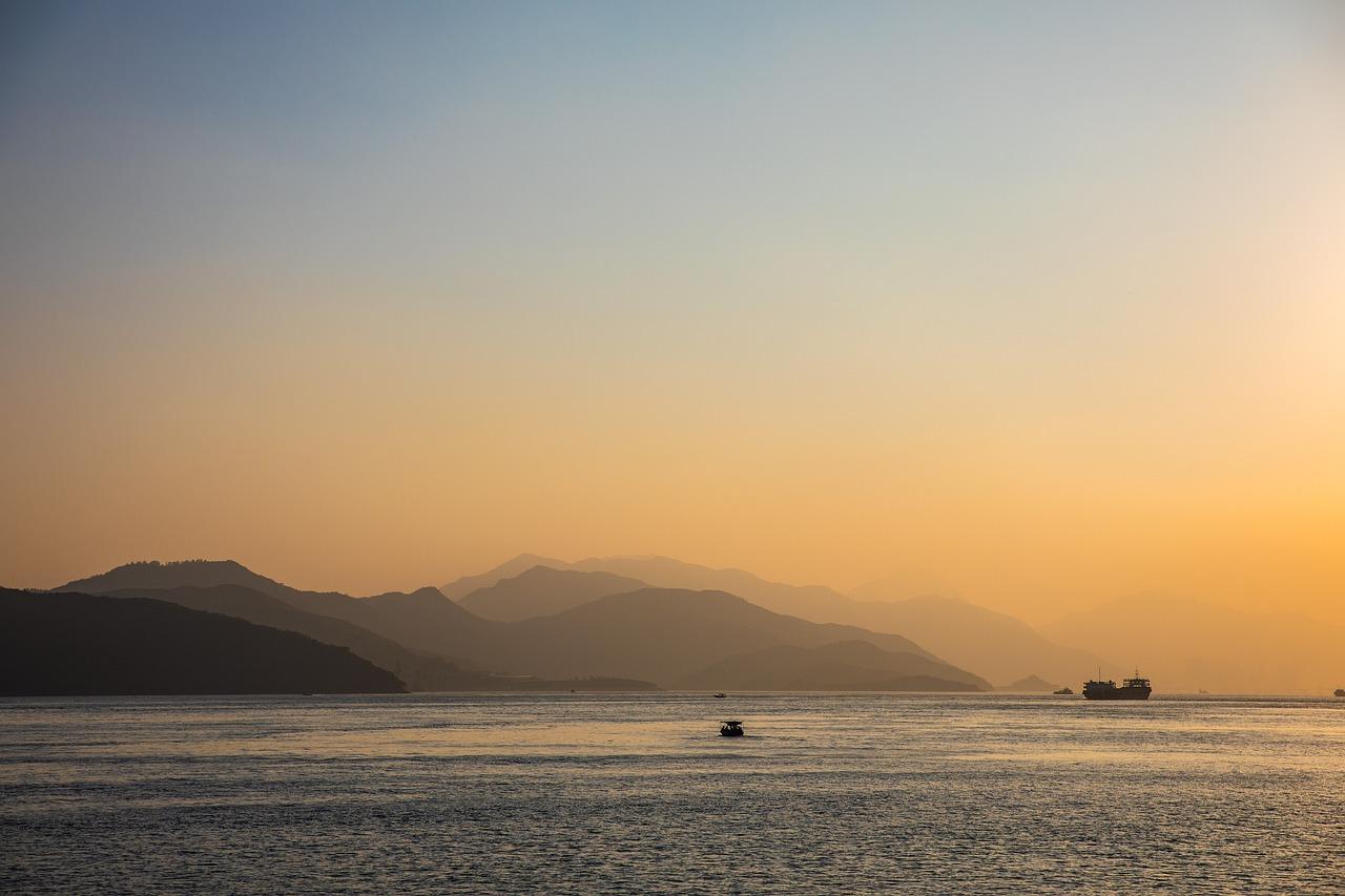 ocean, sunset, hong kong #6603265 w salonie