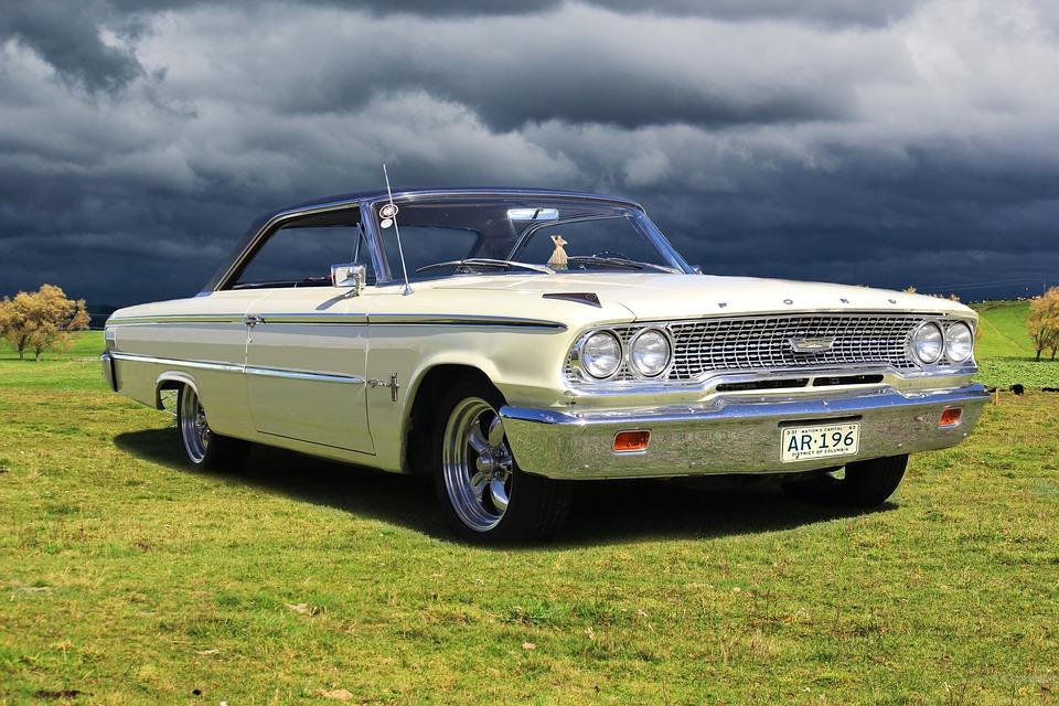 Ford Galaxie, Classic Car, Car, Muscle Car, 63 Galaxie